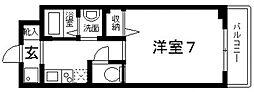 epoch昭和町[306号室号室]の間取り