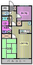 キャッスルアネックス[3階]の間取り