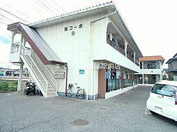 岡山県倉敷市川入丁目なしの賃貸アパートの外観