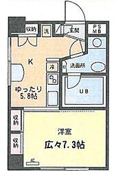 KS−DIO(リノベーション)[701号室号室]の間取り