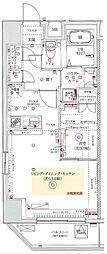 フェルクルールプレスト上野根岸[7階]の間取り