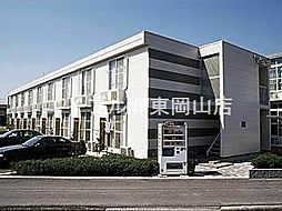 岡山県岡山市東区西大寺川口丁目なしの賃貸アパートの外観