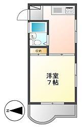 マザック千代田[3階]の間取り