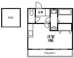サンクドミール[2階]の間取り