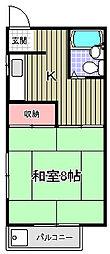 望月荘[2階]の間取り