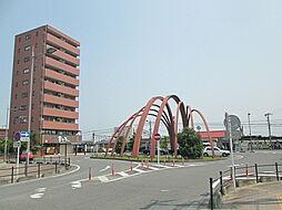高麗川駅前のロ...