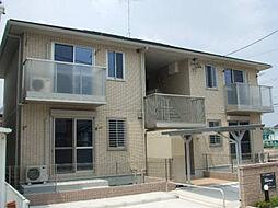 愛知県北名古屋市能田蓮池の賃貸アパートの外観