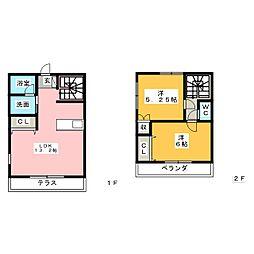 ガーデンハイツ紋谷[1階]の間取り