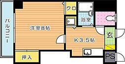 ピエドラブランカ西本町[4階]の間取り