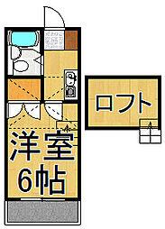 アネックスローズ2[2階]の間取り