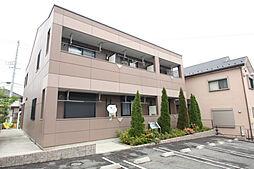 愛知県日進市岩崎町根裏の賃貸アパートの外観