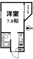 高円寺ヴィレッジ[3階]の間取り