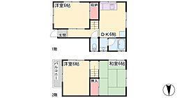[一戸建] 兵庫県高砂市中島1丁目 の賃貸【/】の間取り
