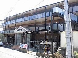 京都府京田辺市田辺道場の賃貸マンションの外観