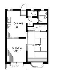 クリーンハイム[1階]の間取り