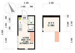 仮)滝野川3丁目IV計画[2階]の間取り
