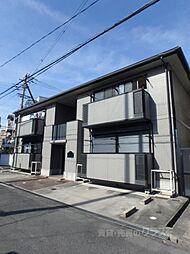 大阪府大阪市阿倍野区長池町の賃貸アパートの外観