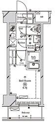 ラフィスタ川崎II[7階]の間取り