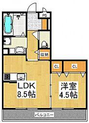 仮)D-room東所沢[3階]の間取り