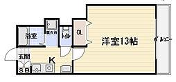 ピ・ラパン[1階]の間取り