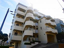 神奈川県横浜市港北区錦が丘の賃貸マンションの外観