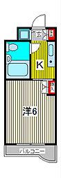 TOP川口第一[5階]の間取り
