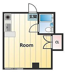 佐々木マンション[2階]の間取り