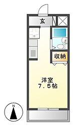 ルーミヤ鶴舞[9階]の間取り