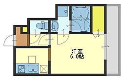 ラフォーレ末広[1階]の間取り