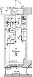 ラフィスタ川崎II[9階]の間取り