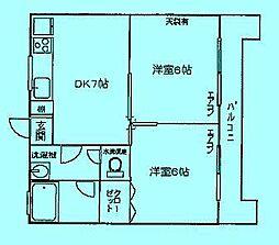ドリームマンション登戸第2[3階]の間取り