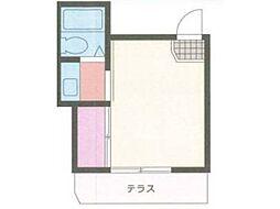 大丸アパート[1階]の間取り