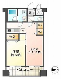 ライオンズマンション国分寺第3[5階]の間取り