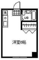東京都府中市朝日町2丁目の賃貸マンションの間取り