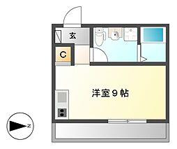 (仮称)港区新川町II 新築アパート[2階]の間取り
