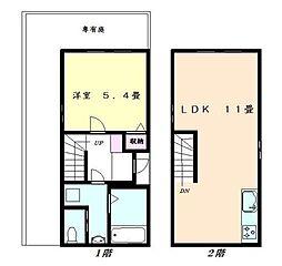 ガーデンフラッツ成城[103号室]の間取り