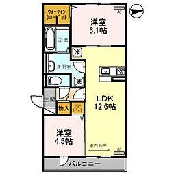 レオンガーデン 〜leon Garden〜[3O6号室号室]の間取り