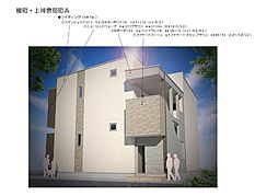 仮)榎町・上神泉苑町SKHコーポA[1階]の外観