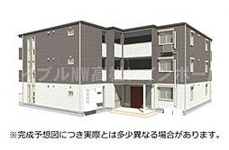 香川県高松市林町の賃貸アパートの外観