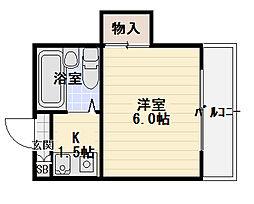 レスポワール21[2階]の間取り