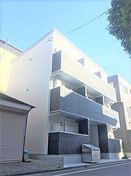 東京都江戸川区小松川4丁目の賃貸アパートの外観