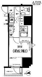 スパシエ八王子クレストタワー[303号室]の間取り