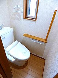 1Fトイレ。温...