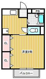 M.ブレイトン(稲里)[202号室号室]の間取り