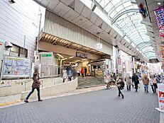 周辺環境-駅(800m)東武東上線「大山」駅