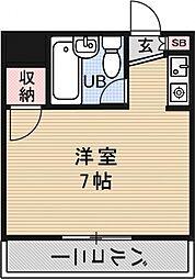 プレアール堂田[102号室号室]の間取り