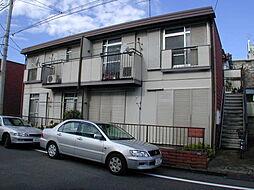 サニーハイツA[202号室]の外観
