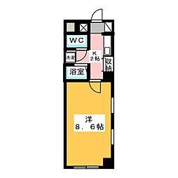 チェルシーズハウス[3階]の間取り
