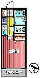 埼玉県さいたま市浦和区前地1丁目の賃貸アパートの間取り