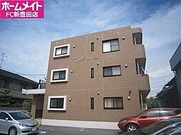 愛知県豊田市美里3丁目の賃貸マンションの外観